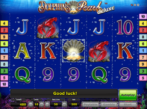 Dolphin's Pearl Deluxe на зеркале Maxbetslots